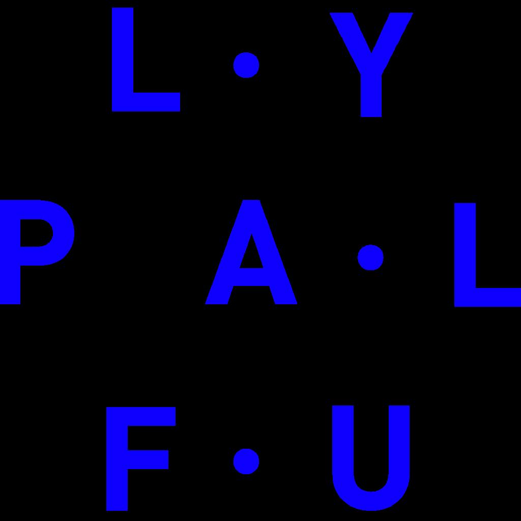 Playful Logo bleu